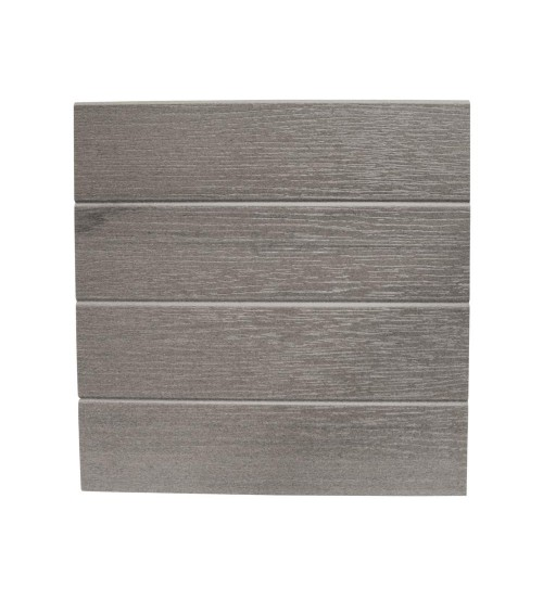 "Eon Embossed Cladding - 12"" x 12' Coastal Grey (requires hangers)"