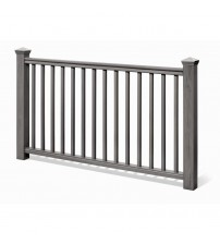 "Traditional Stair Rail Kit - 36"" Coastal Grey"