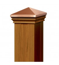 Eon Post Sleeve Kit (with matching cap & base collar) - Cedar