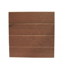 "Eon Embossed Cladding - 12"" x 12' Chestnut (requires hangers)"