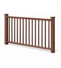 "Traditional Stair Rail Kit - 36"" Chestnut"