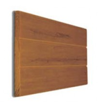 "Eon Embossed Cladding - 12"" x 12' Cedar (requires hangers)"