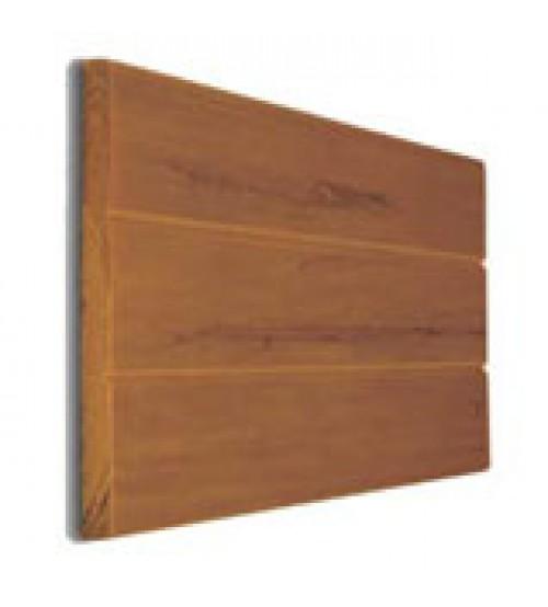 """Eon Embossed Cladding - 12"""" x 12' Cedar (requires hangers)"""