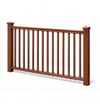 "Traditional Stair Rail Kit - 36"" Cedar"